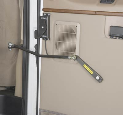Optional Door Operator for Under Vehicle Wheelchair Lift