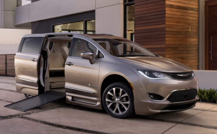 2017 Chrysler Pacifica Wheelchair Van