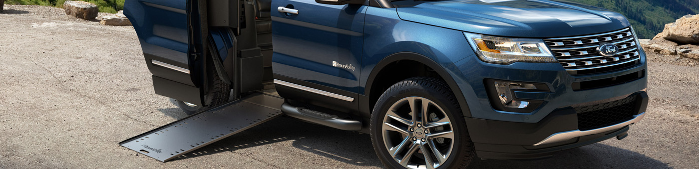 Ford MXV BraunAbility SUV Wheelchair ramp