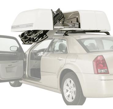Convenient Car Wheelchair Storage