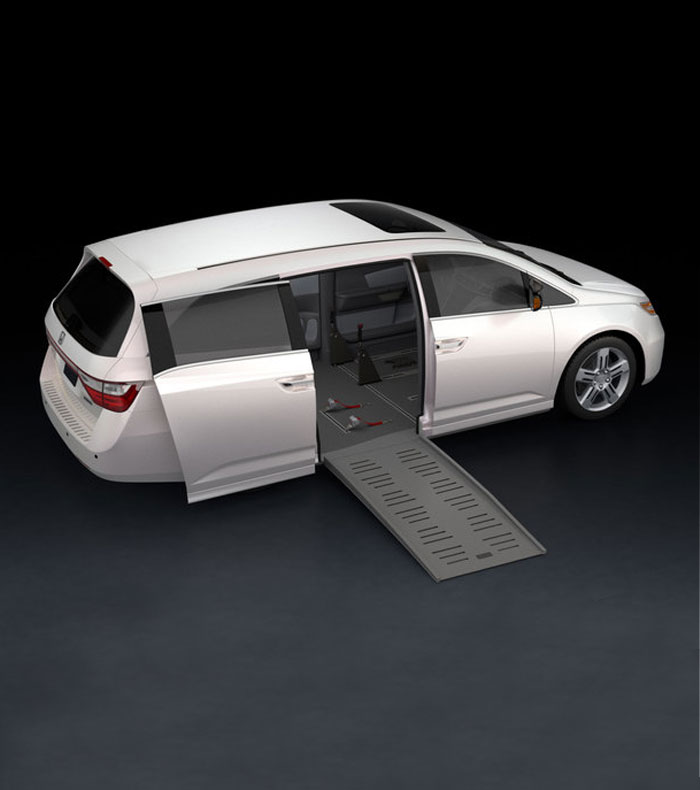 Digital view of Dodge Caravan in solutions tool