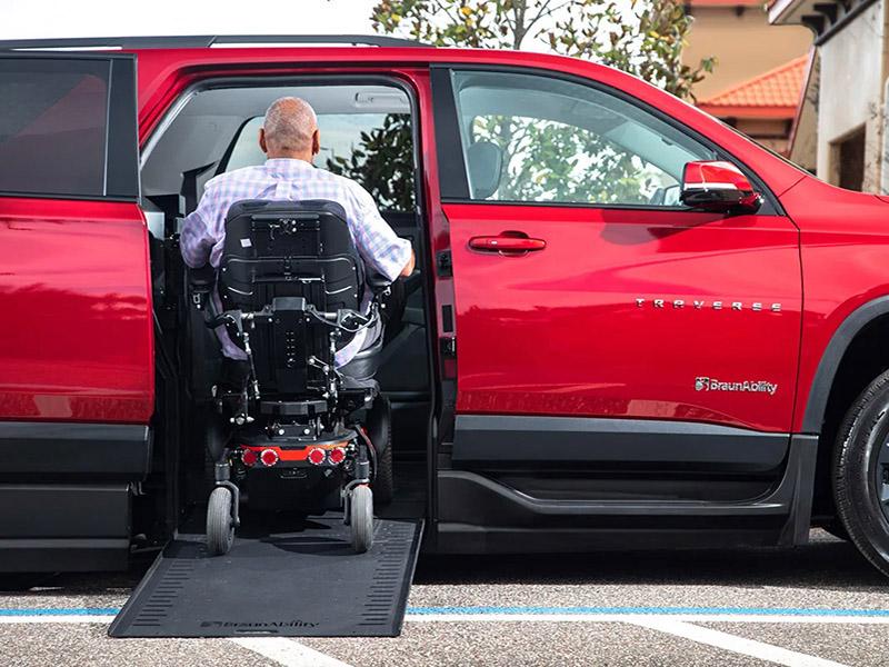 BraunAbility Chevy Traverse wheelchair vans