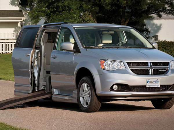Dodge Grand Caravan wheelchair vans