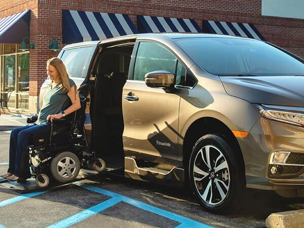 Honda Odyssey wheelchair vans