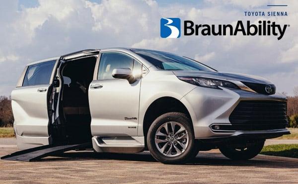 BraunAbility Toyota Sienna Hybrid